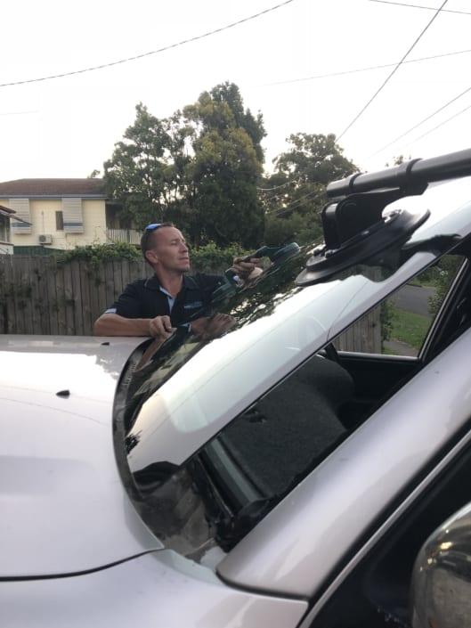 Windscreen Repair Replacement Autoglass Lifting Window Brisbane - Installation New Windscreen